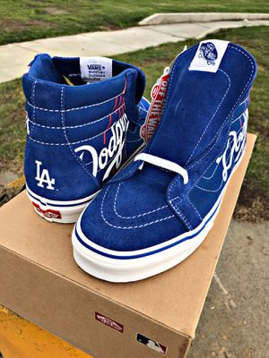 Vans Reissue MLB (baseball) Los Angeles Dodgers Hi Tops for Sale in South Gate, CA