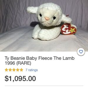 Ty Beanie Babie for Sale in Bethesda, MD
