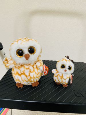 Beanie Boo's Collection Owls for Sale in Fircrest, WA