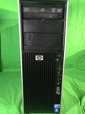 Windows 10 Pro HP Quad Core Xeon W3530 2.8 Ghz 12gb RAM / 128GB SSD RX 560 4GB for Sale in Upland, CA