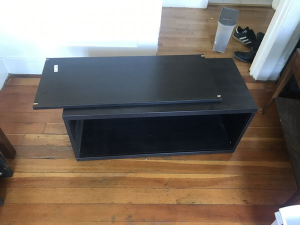 Small Ikea entertainment center