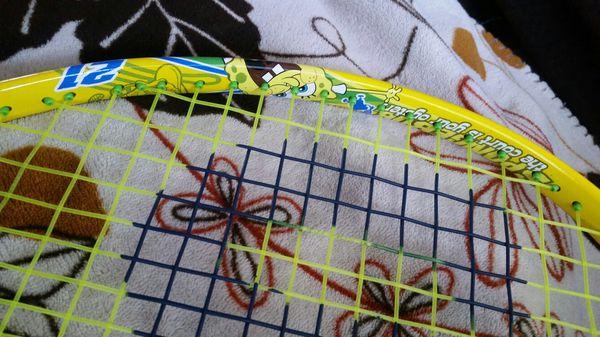 Kids Sponge Bob Wilson tennis racket
