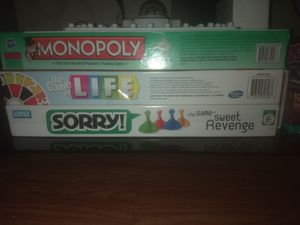 Monopoly, life, and , sorry for Sale in Austin, TX