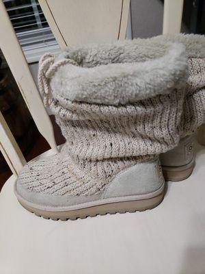 Skechers Australia Women's Size 6 Tan Knit Winter Ankle Boot for Sale in Lakeland, FL