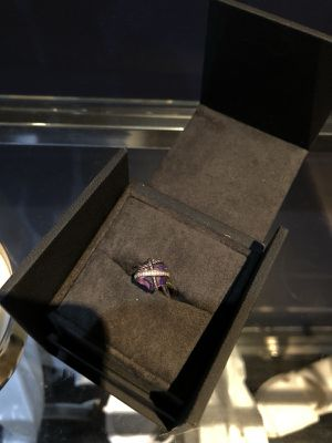 Authentic David Yurman Cable Wrap Ring Amethyst Size 5.5 for Sale in New York, NY