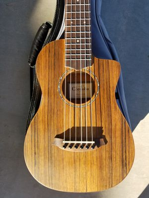 Cordoba Mini O-CE Ovangkol Small Body Acoustic-Electric Nylon String Guitar for Sale in Avondale, AZ