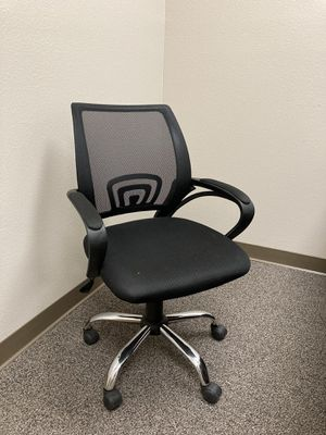 Black Office Chair for Sale in Fresno, CA
