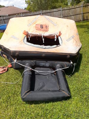 Used Life Raft. up to 6 persons*(sold as-is) for Sale in Houston, TX