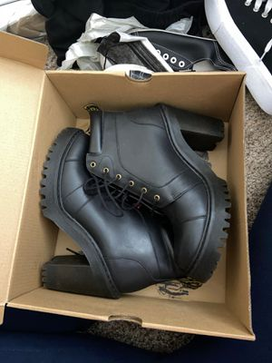 Dr Martens leather heeled ankle boots for Sale in Chula Vista, CA