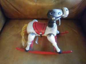 Vintage wooden musical horse , working condition. for Sale in San Diego, CA