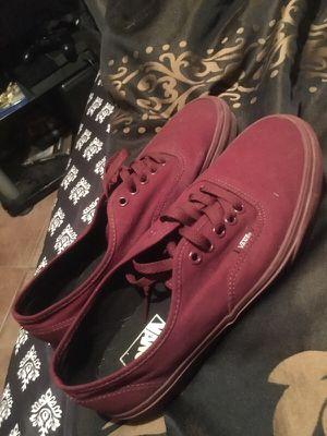 Maroon vans. Size 9 for Sale in Phoenix, AZ