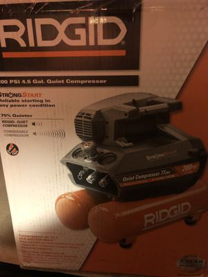 Brand new ridge compressor open box never used for Sale in Columbus, OH