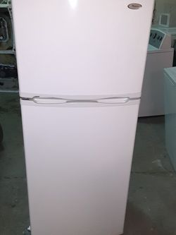 Small refrigerator Whirlpool Good Condition 2 Months warranty for Sale in San Leandro,  CA