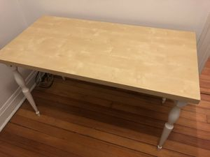 IKEA desk/table with turn style legs for Sale in Chicago, IL