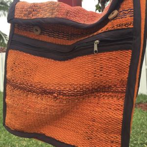 Andean Shoulder Bag Wool Blend Handmade Artisan Peru Tote for Sale in Hollywood, FL