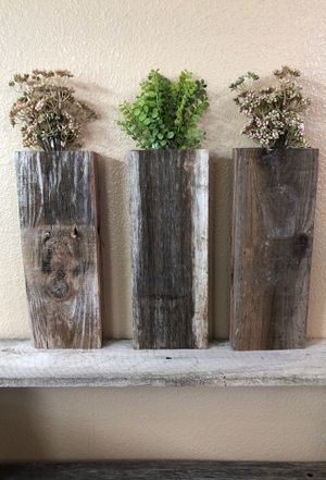 Adorable wall plant holders for Sale in Modesto, CA
