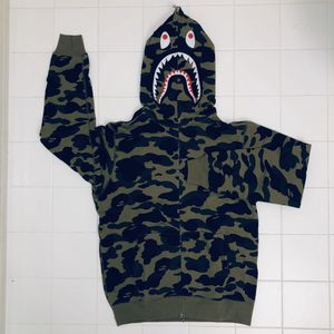 Bape 1st camo shark hoodie size L and XL for Sale in Malden, MA