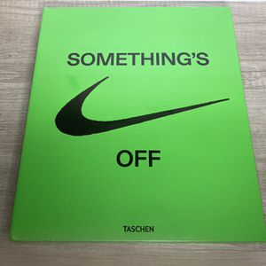 Virgil Abloh x Nike ICONS Book for Sale in Silver Spring, MD
