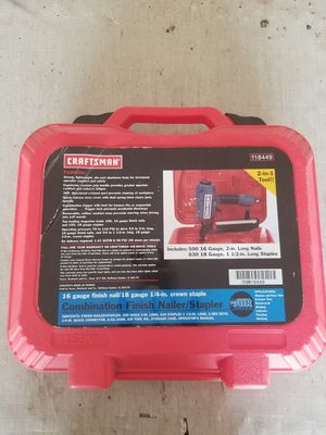 Pneumatic Air Nail Gun for Sale in Henderson, NV