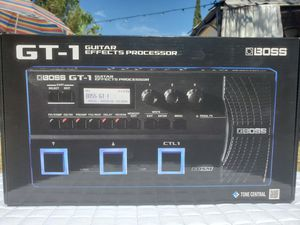 $150 BOSS GT-1 GUITAR EFFECTS PROCESSOR for Sale in Las Vegas, NV