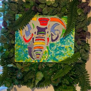 Colorful Jungle Elephant for Sale in San Antonio, TX