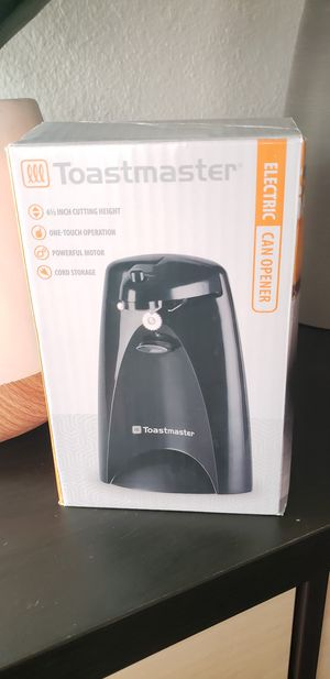 New electric can opener kitchen appliance for Sale in Santa Barbara, CA