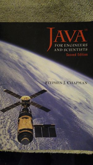 JAVA FOR ENGINEERS AND SCIENTISTS (SECOND EDITION) NO WRITING, GOOD CONDITION for Sale in Landisville, PA