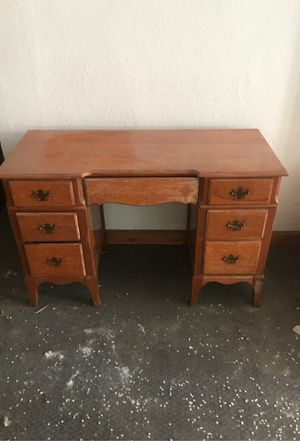 Wood desk for Sale in Riverbank, CA