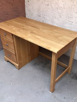 "50"" Wood Desk for Sale in Los Angeles,  CA"