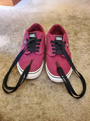 2015/2016 Maroon Vans Shoes for Sale in Seattle, WA