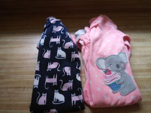 Girls footed pajamas for Sale in Virginia Beach, VA