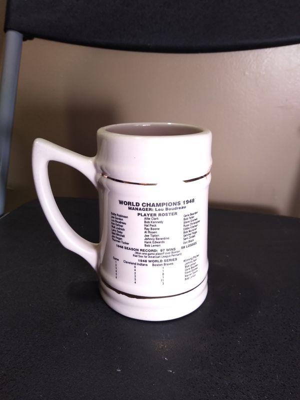 Red skins world champion Stein mug ceramic
