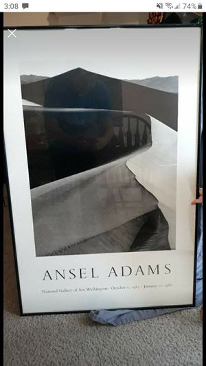 Framed Ansel Adam's print for Sale in Edgewood, WA