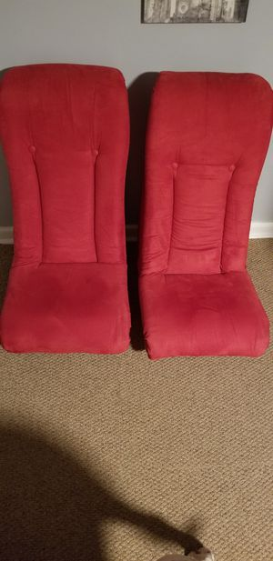 Two red rocker gaming chairs for Sale in Morton Grove, IL