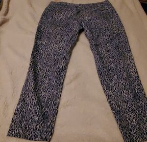 Michael Kors Blue & White trousers. Size 12 for Sale in Buford, GA