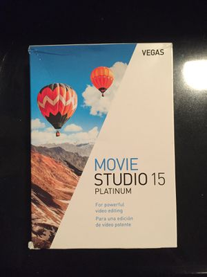 Vegas Movie Editing Software movie studio 15 platinum for windows for Sale in Delray Beach, FL