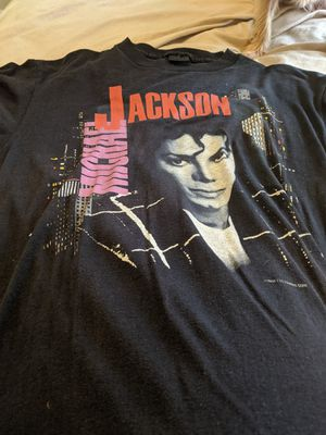 Awesome vintage michael jackson Bad tour 1988;make offer price negotiable for Sale in Seven Hills, OH
