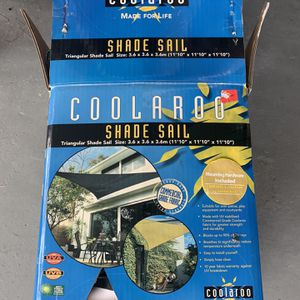 Coolaroo shade sail for Sale in Orlando, FL