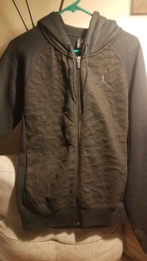 Jordan full zip Hoodie. Black for Sale in Missoula, MT