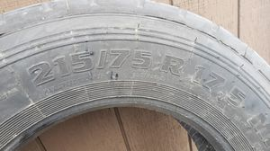 Tires, 2 Matco 215/75/R17.5 free for Sale in Orting, WA
