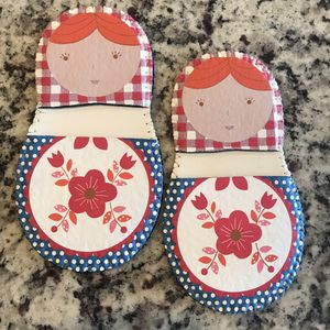Matryoshka Russian Doll Mini-Grip Pot Holders for Sale in Rockville, MD