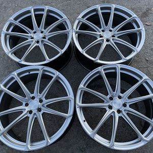 "22"" XO Luxury Spin Forged series Rims 22 Wheels 22s Rines Will fit Honda , Ford Mustang , Mercedes benze , Audi , Civic , Acura , Accord And Many Mor for Sale in Dallas, TX"