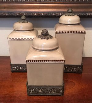 Gracious Goods Kitchen Canisters for Sale in Frisco, TX