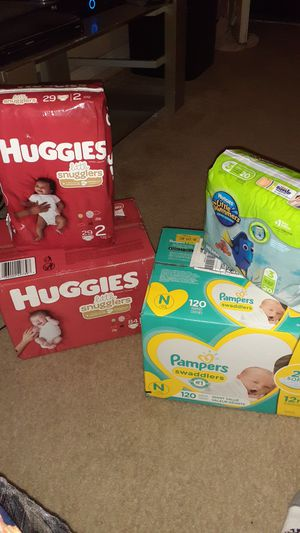 Huggies and pamper for Sale in Irving, TX