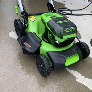 Greenworks Pro Electric Lawnmower for Sale in Chesapeake, VA