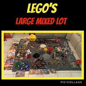 LEGO, Huge Lot of Mixed legos....Look for Sale in West Palm Beach, FL