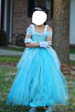 Elsa tutu dress for Sale in Morrisville, NC