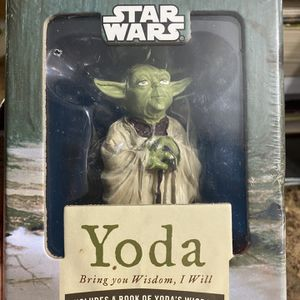 Star Wars Yoda: Bring You Wisdom, I Will for Sale in Tampa, FL