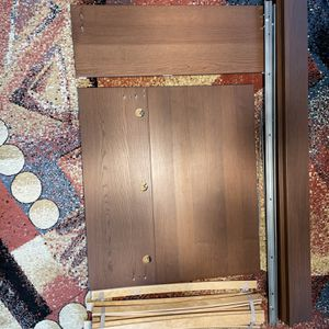 Used IKEA Brown MALM twin bed. for Sale in Staten Island, NY