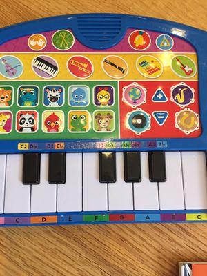 Baby Einstein keyboard and books-music for Sale in Everett, WA